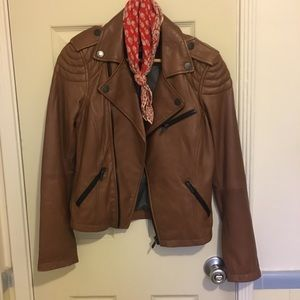 Jackets & Blazers - WILLIAM RAST (for target) Leather Moto Jacket